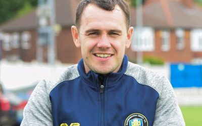 Gainsborough Trinity joint-boss Liam King learning on his feet