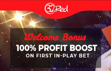 32red up to 100% profit boost offer