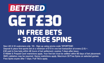 Betfred - Get Your Bonus Now!