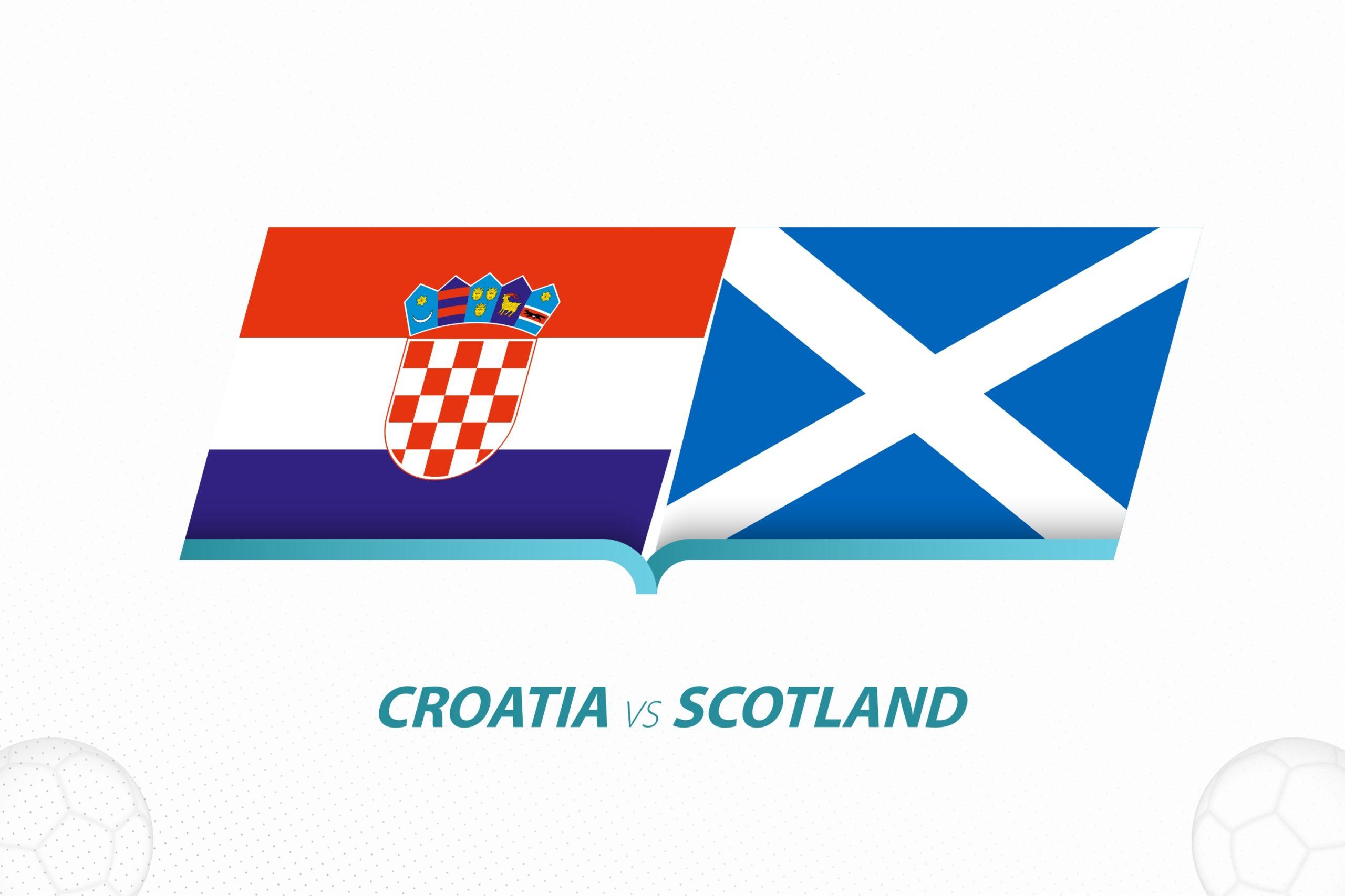 Croatia Scotland Euro 2020