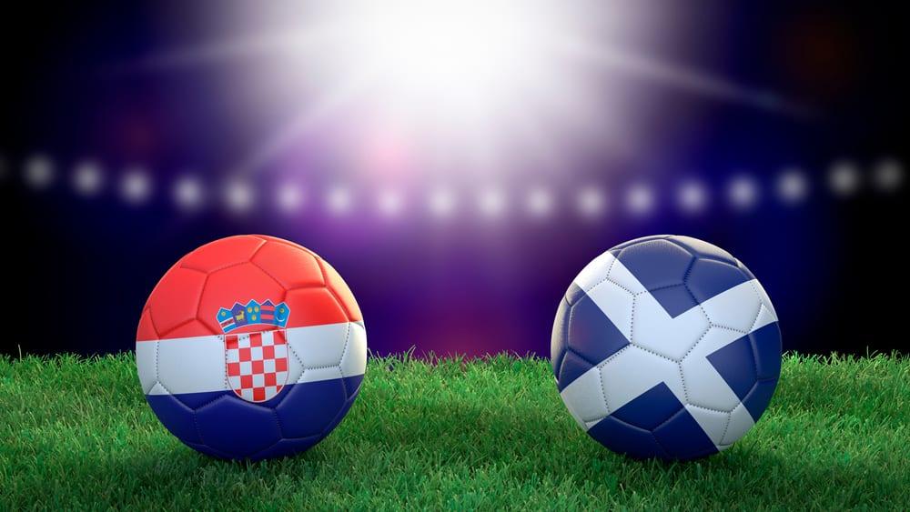 Croatia vs Scotland Euro 2020