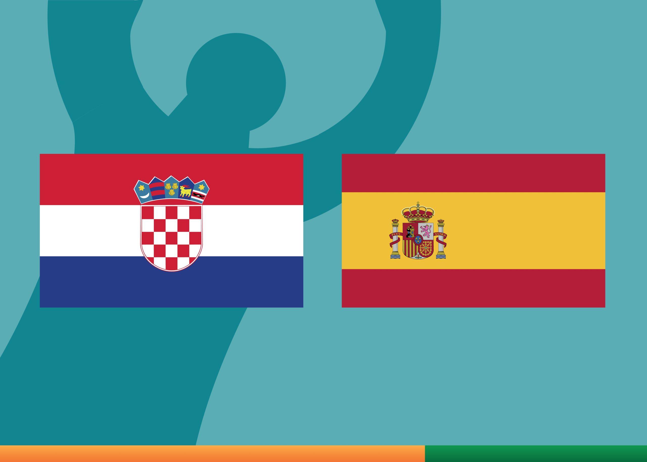 Croatia vs Spain Euro 2020