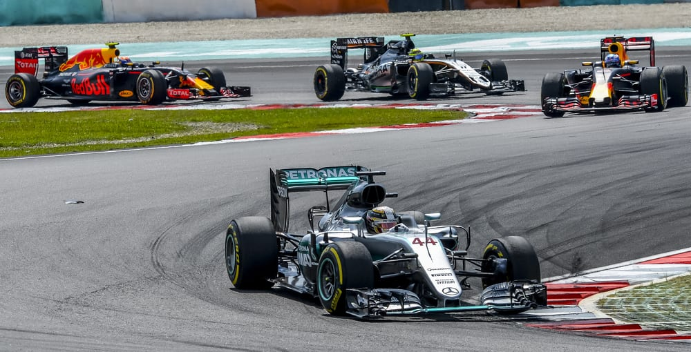 Formula 1 Mercedes Red Bull