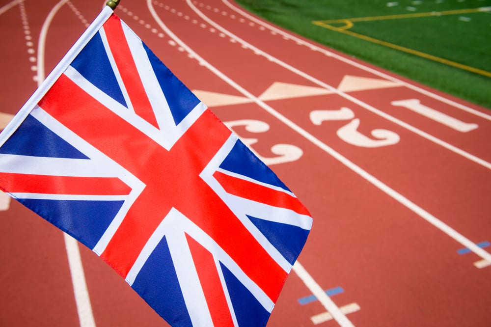 GB Athletics Track