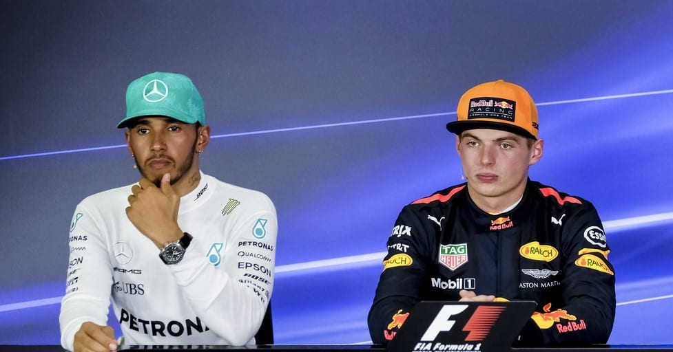 Hamilton and Verstappen