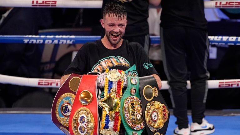 Josh Taylor Unified Champion