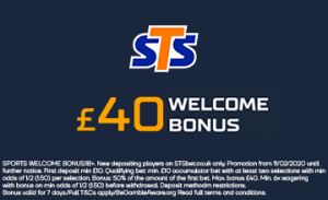 sts welcome bonus