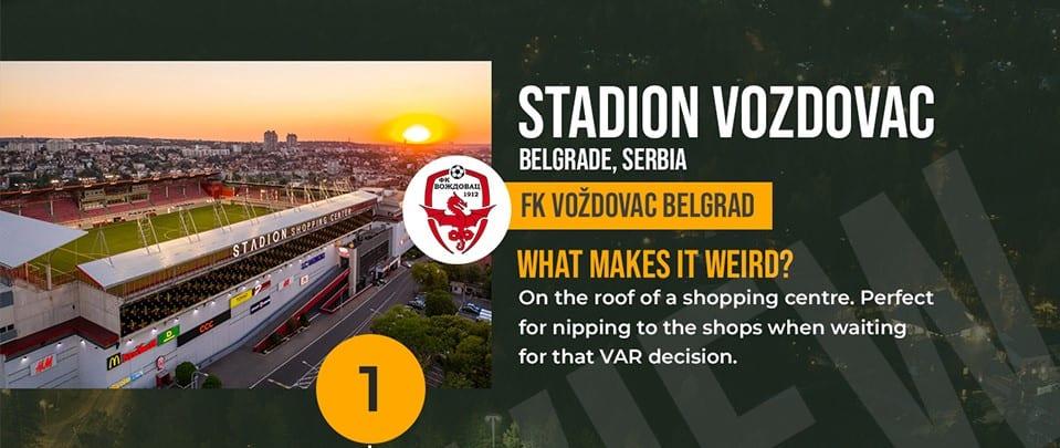 Stadion Vozdovac Serbia