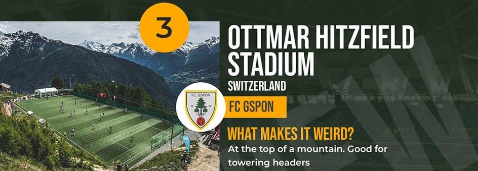 Ottmar Hitzfeld Stadium Switzerland