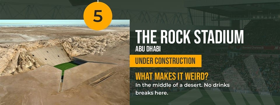 The Rock Stadium Abu Dhabi