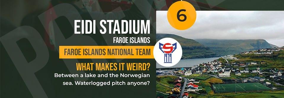 Eidi Stadium Faroe Islands