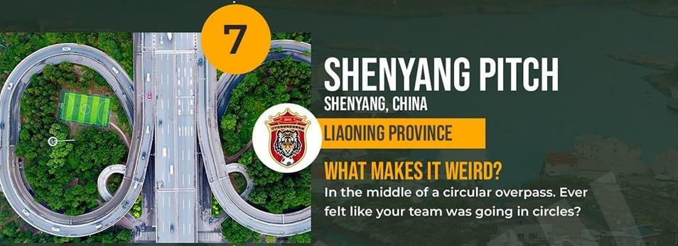 Shenyang Pitch China