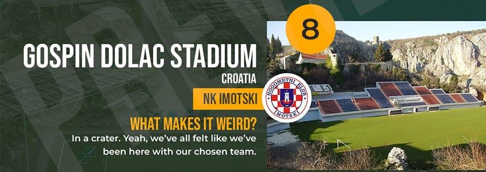 Gospin Dolac Stadium Croatia