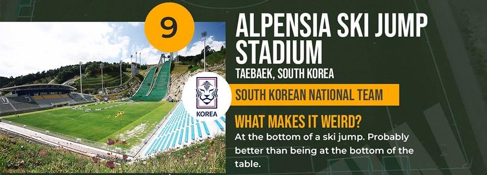 Alpensia Ski Jump South Korea