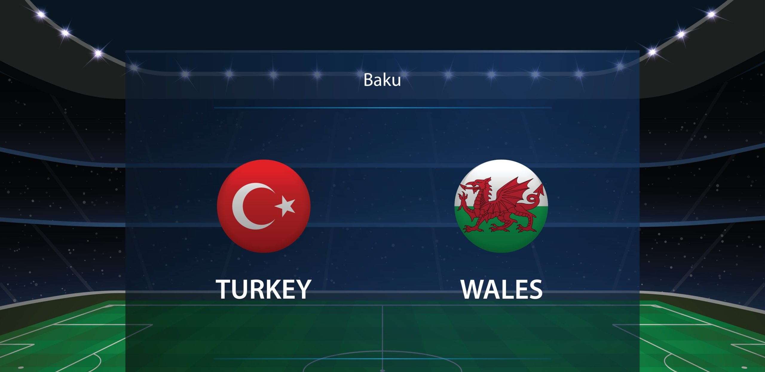 Turkey vs Wales Euro 2020