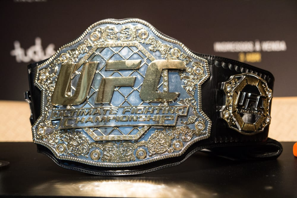 UFC Title Belt
