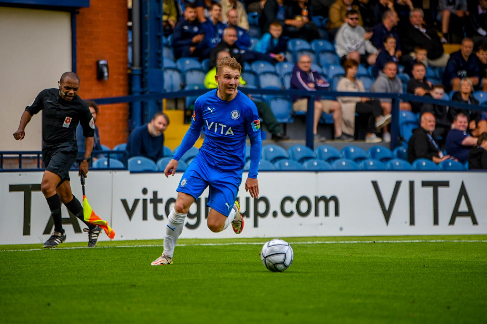 Stockport County player