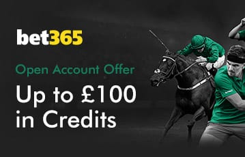 Bet365 up to £100 sport bonus