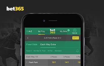 Bet365 sports bonus mobile