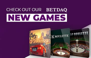 Betdaq new casino games