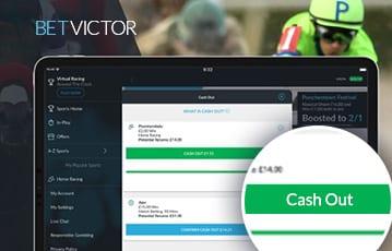 BetVictor sport cashout