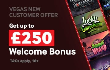Betway casino bonus up to £250