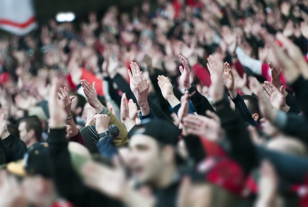 football fans uk