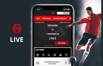 GentingBet sport live betting