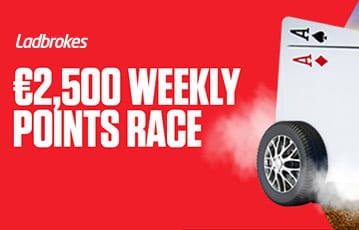 Ladbrokes £2500 weekly points race