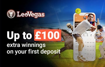 Up to £100 extra winnings on first deposit