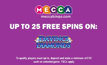 Mecca Bingo - Get Your Bonus Now!
