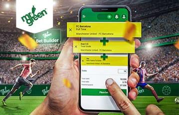 Mr. Green bet builder