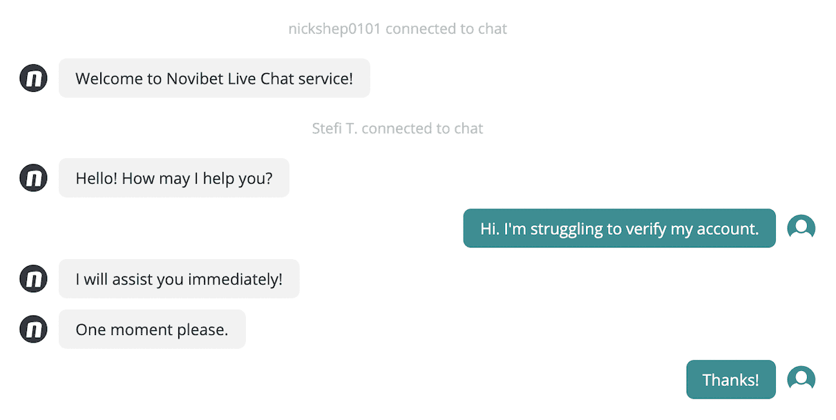 novibet chat 1