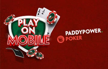 Paddypower mobile poker