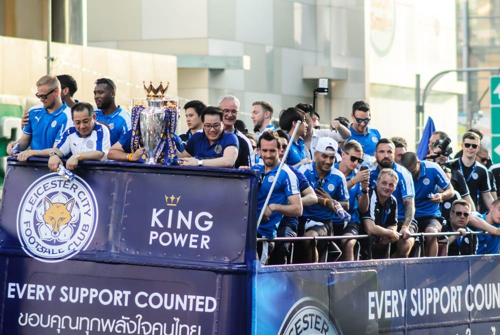 Leicester City premier league win
