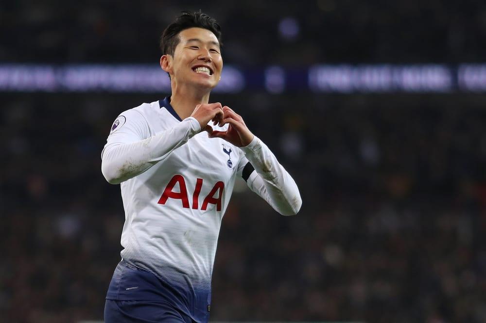 spurs premier league top four