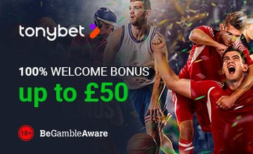 Tonybet - Get Your Bonus Now!