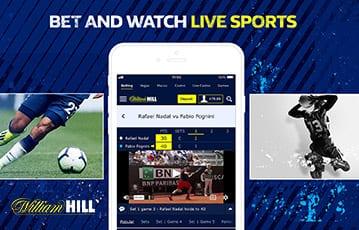 William Hill live sports