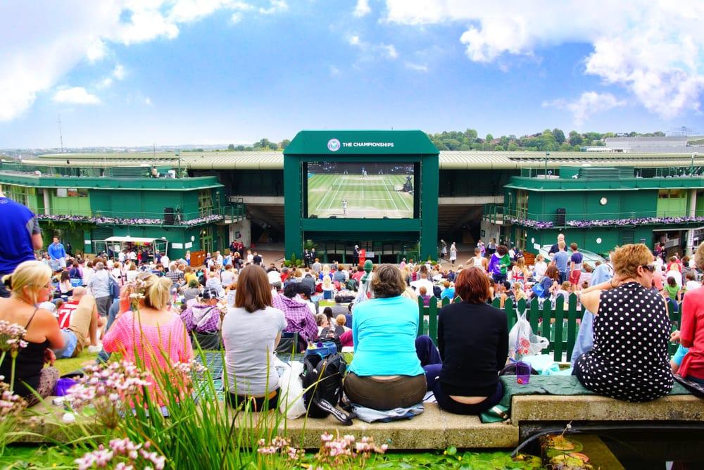 wimbledon tennis fans